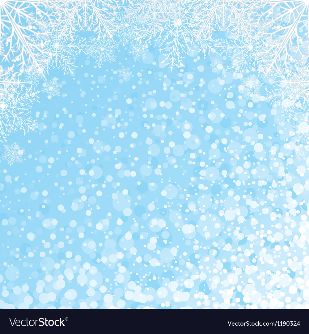 Snowflakes backdrop vector | Price: 1 Credit (USD $1)