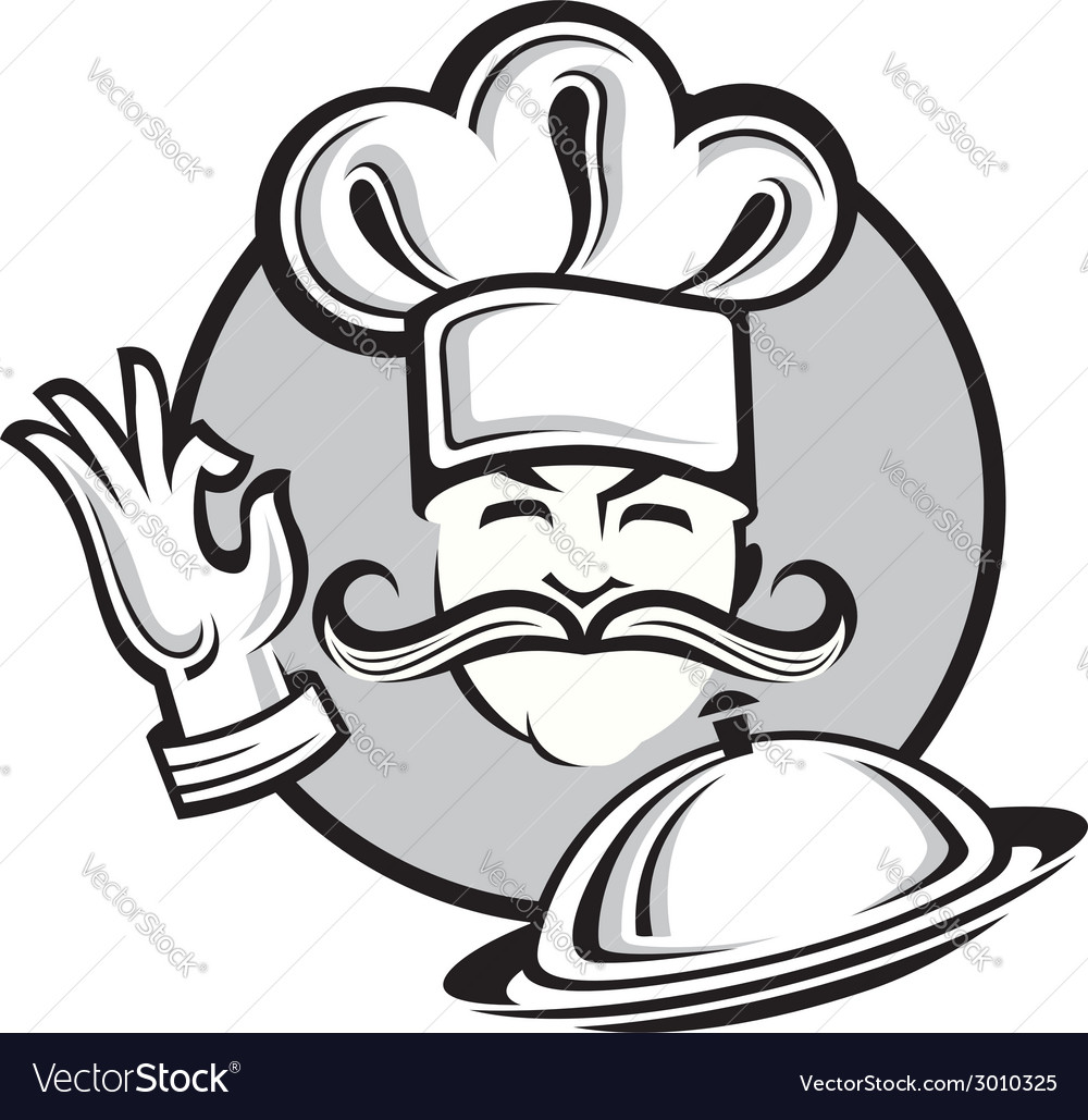 Chef design vector | Price: 1 Credit (USD $1)