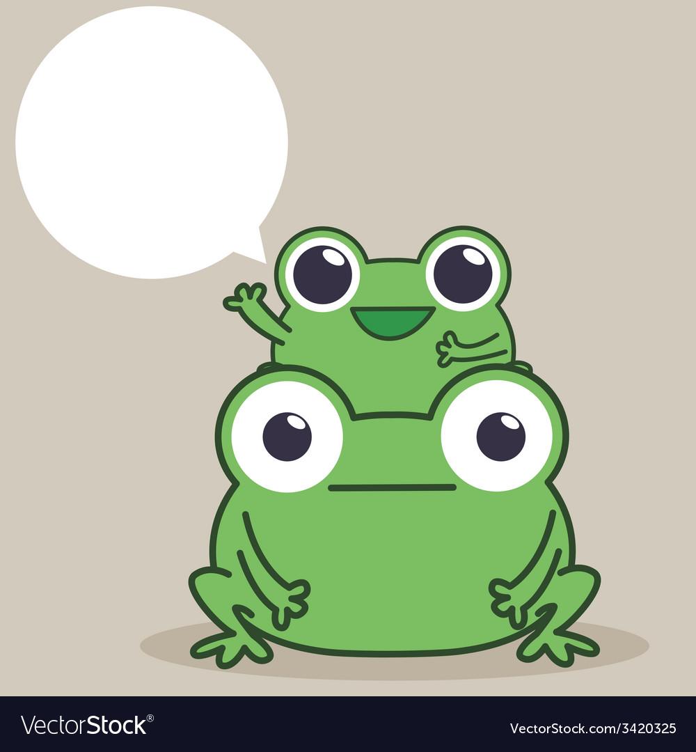 Frog duo vector | Price: 1 Credit (USD $1)