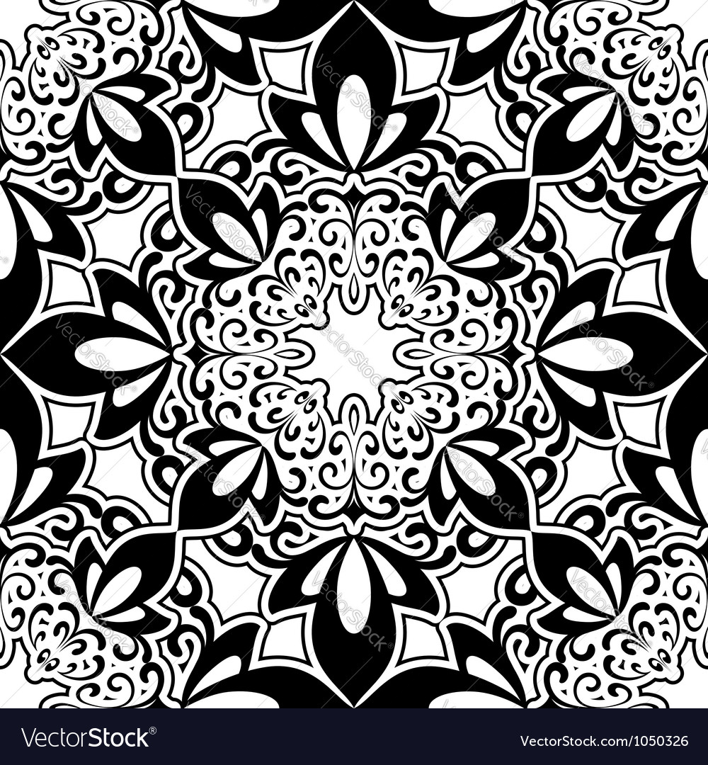 Decorative pattern vector | Price: 1 Credit (USD $1)