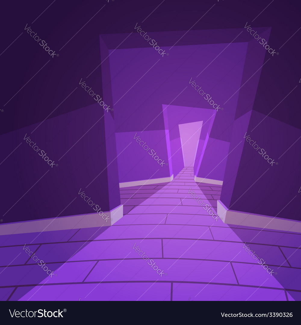 The hallway vector | Price: 1 Credit (USD $1)