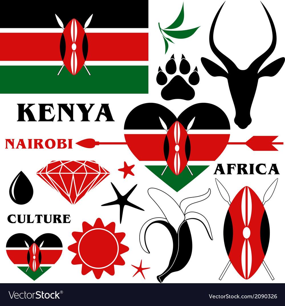 Kenya vector   Price: 1 Credit (USD $1)