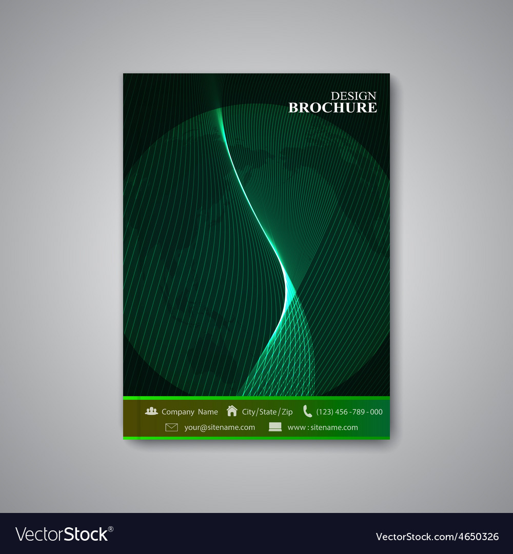 Modern abstract template layout brochure magazine vector | Price: 1 Credit (USD $1)