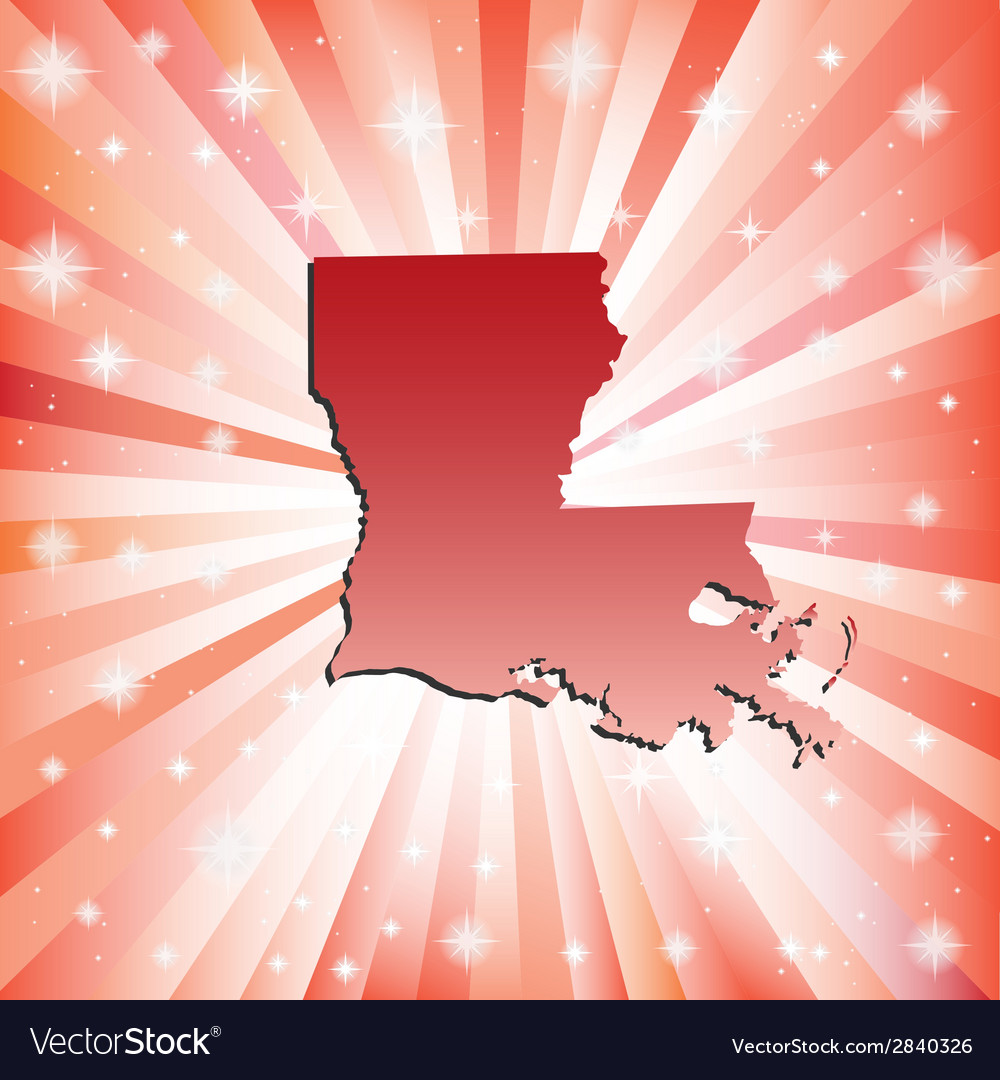 Red louisiana vector | Price: 1 Credit (USD $1)
