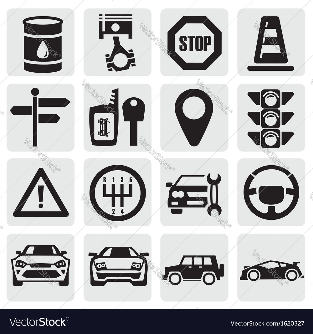 Auto set vector | Price: 1 Credit (USD $1)