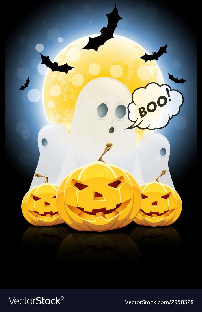 Halloween poster vector   Price: 1 Credit (USD $1)