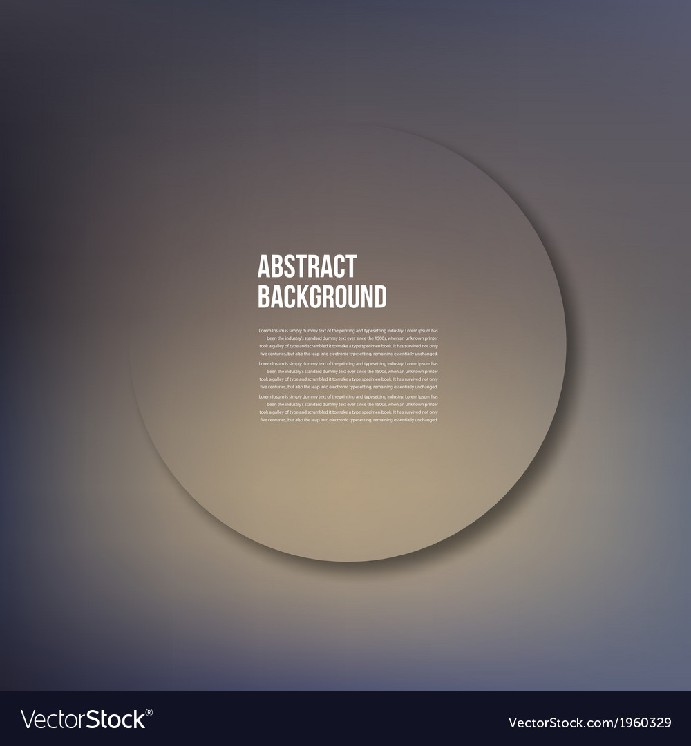 Circle object design trend and transparent vector | Price: 1 Credit (USD $1)