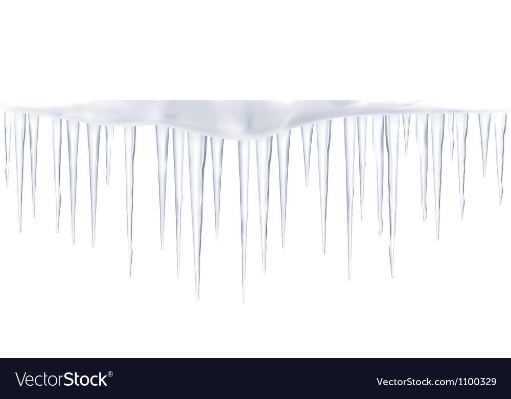Icicles vector | Price: 1 Credit (USD $1)