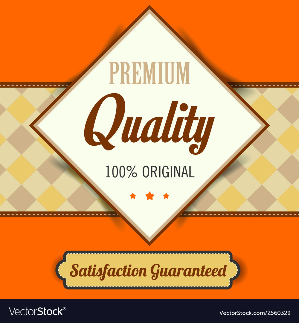 Premium quality poster retro vintage design vector | Price: 1 Credit (USD $1)