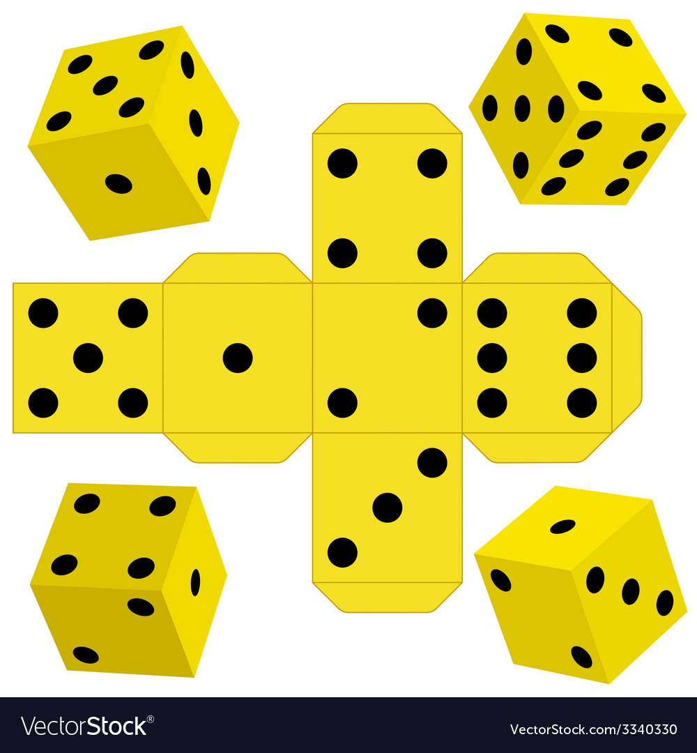 Dice vector | Price: 1 Credit (USD $1)