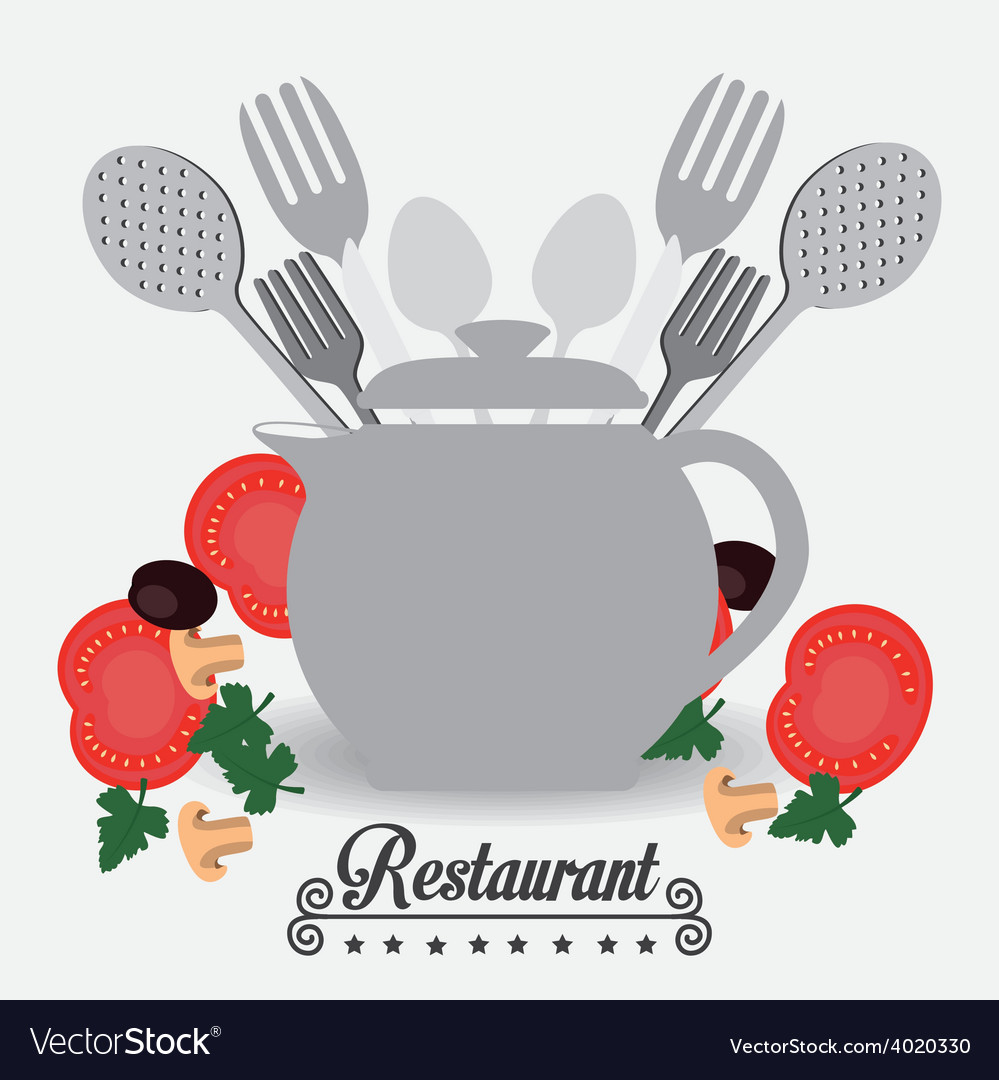 Restaurant design vector | Price: 1 Credit (USD $1)