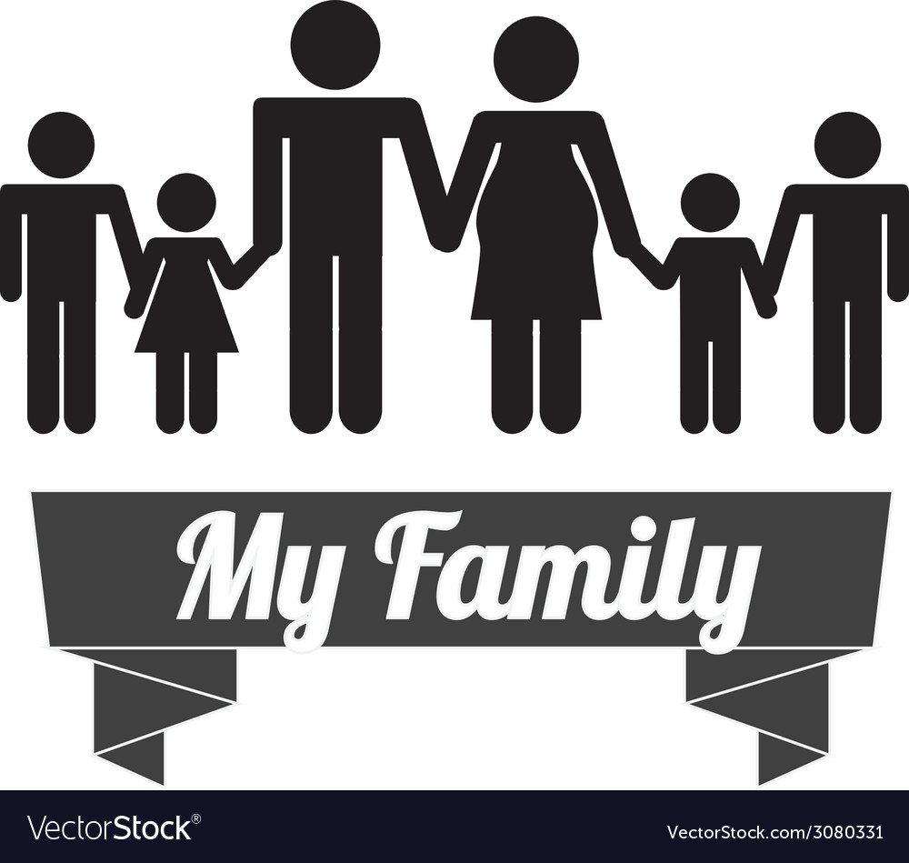 Family design vector | Price: 1 Credit (USD $1)