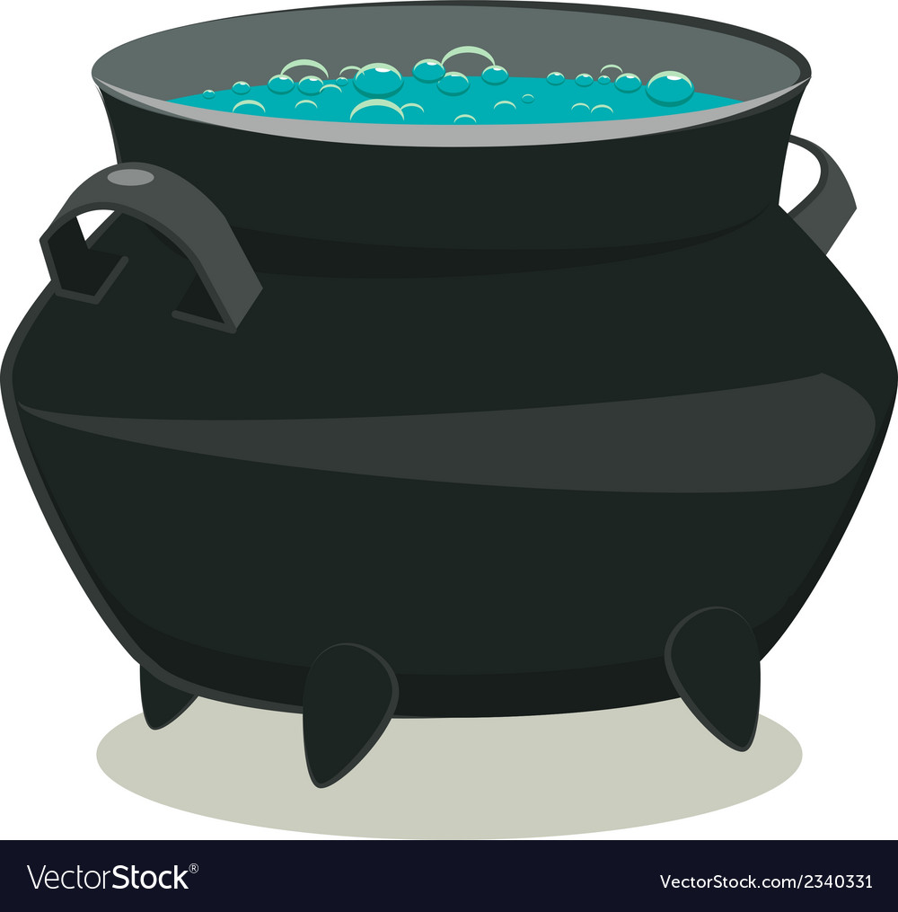 Pot potion isolated on white background vector | Price: 1 Credit (USD $1)