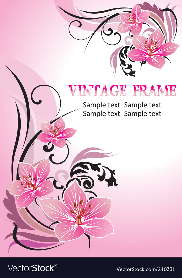 Tropical floral vector | Price: 1 Credit (USD $1)