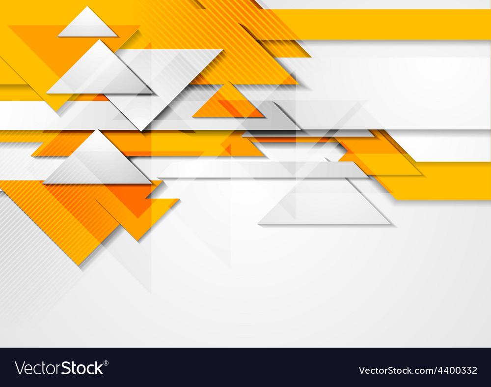 Orange shiny hi-tech motion background vector | Price: 1 Credit (USD $1)