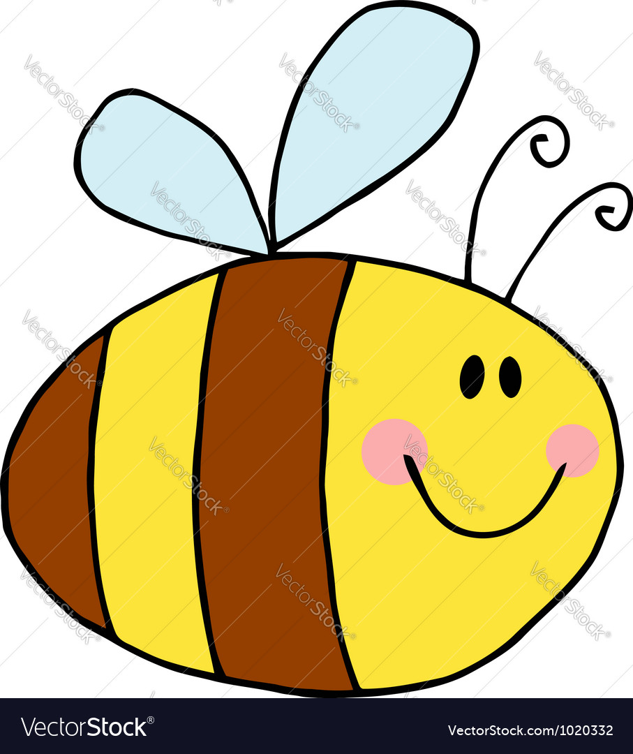 Pudgy bee vector | Price: 1 Credit (USD $1)