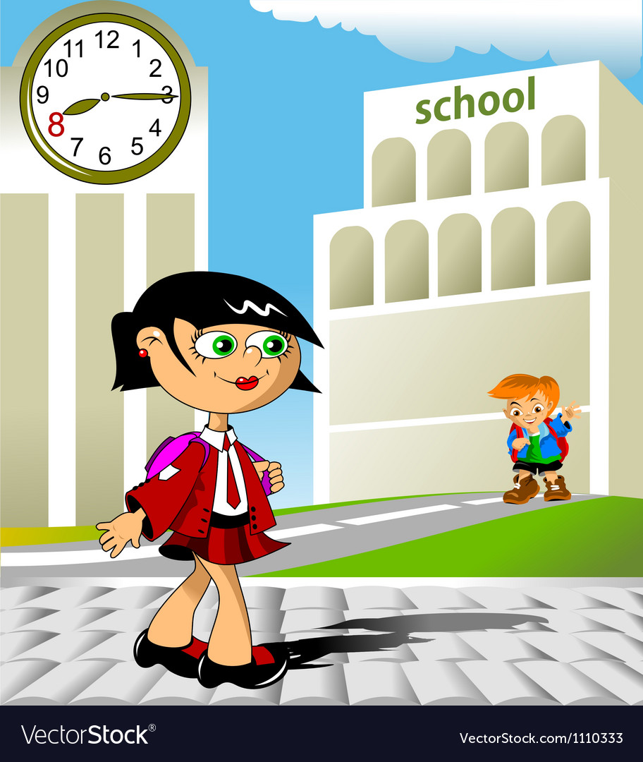 Hi school vector | Price: 1 Credit (USD $1)