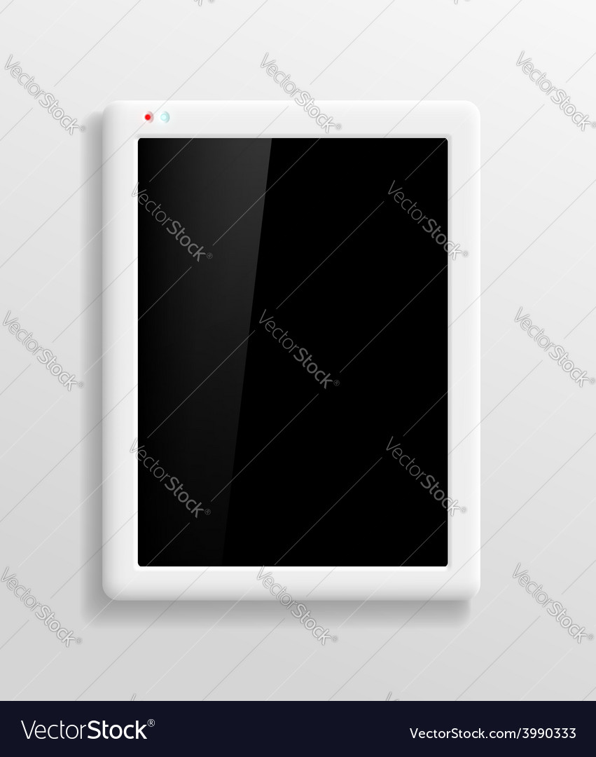 Tablet screen vector | Price: 1 Credit (USD $1)