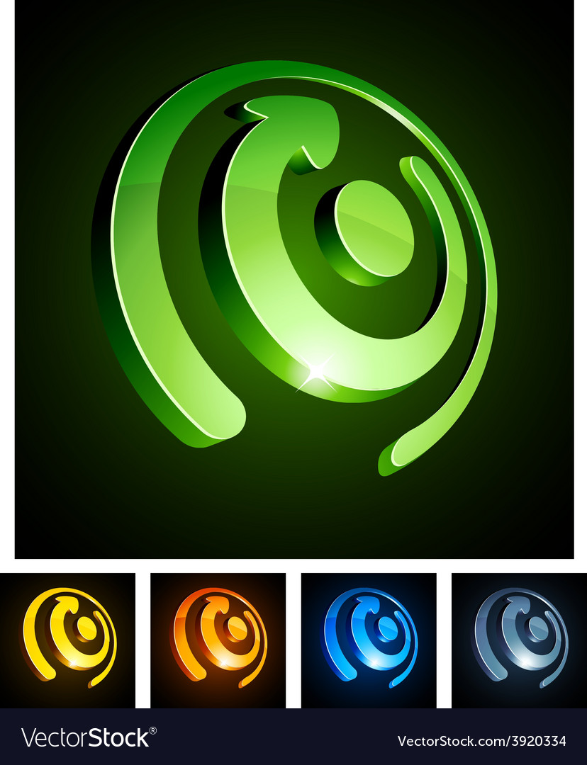 3d rotate emblems vector   Price: 1 Credit (USD $1)
