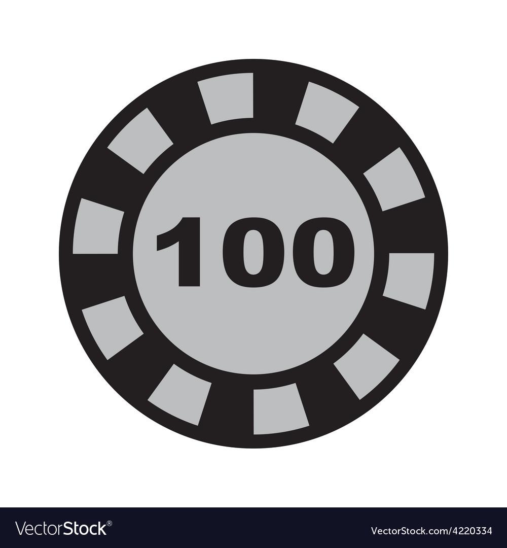 Casino icon vector | Price: 1 Credit (USD $1)