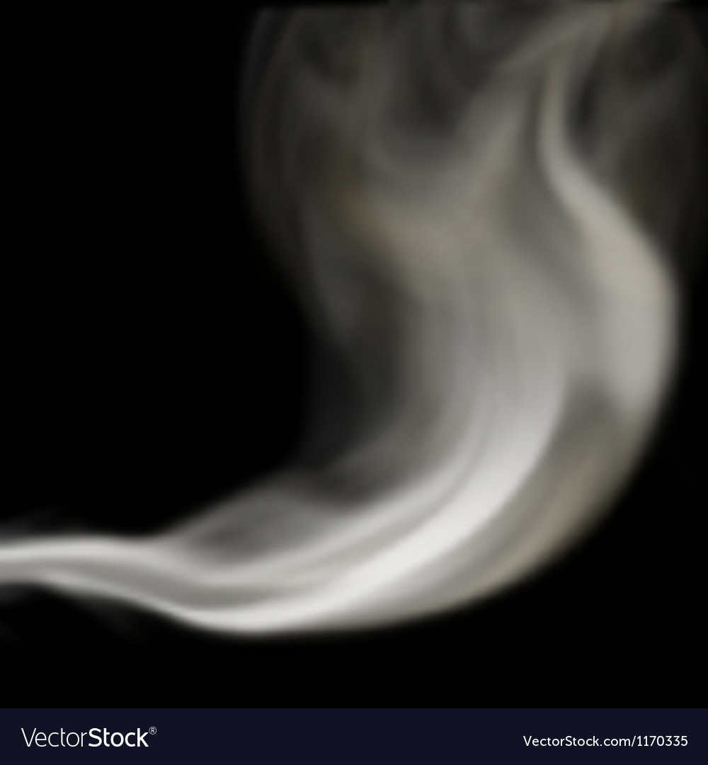 Blown smoke vector | Price: 1 Credit (USD $1)