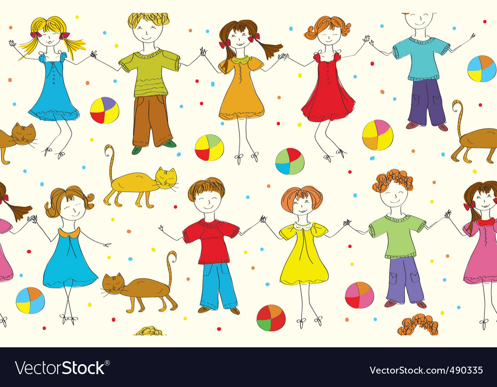 Children funny vector | Price: 1 Credit (USD $1)