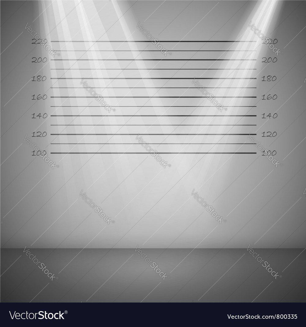 Criminal lineup background vector | Price: 1 Credit (USD $1)