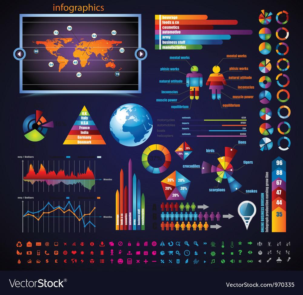 Infographic elements vector   Price: 3 Credit (USD $3)