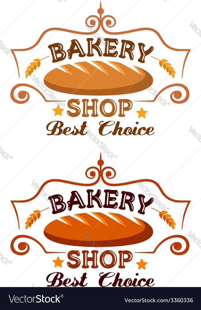 Bakery shop label vector | Price: 1 Credit (USD $1)