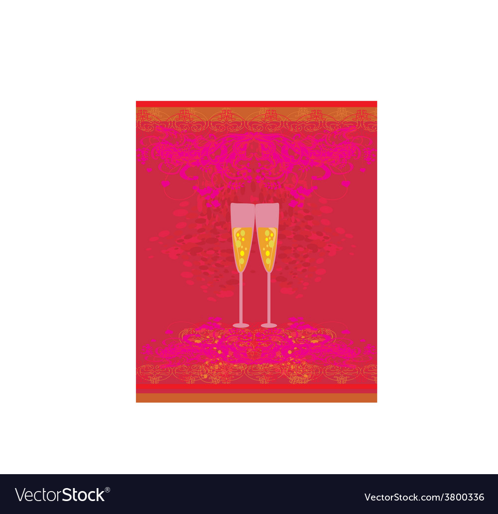 Invitation to birthday cocktail party vector | Price: 1 Credit (USD $1)