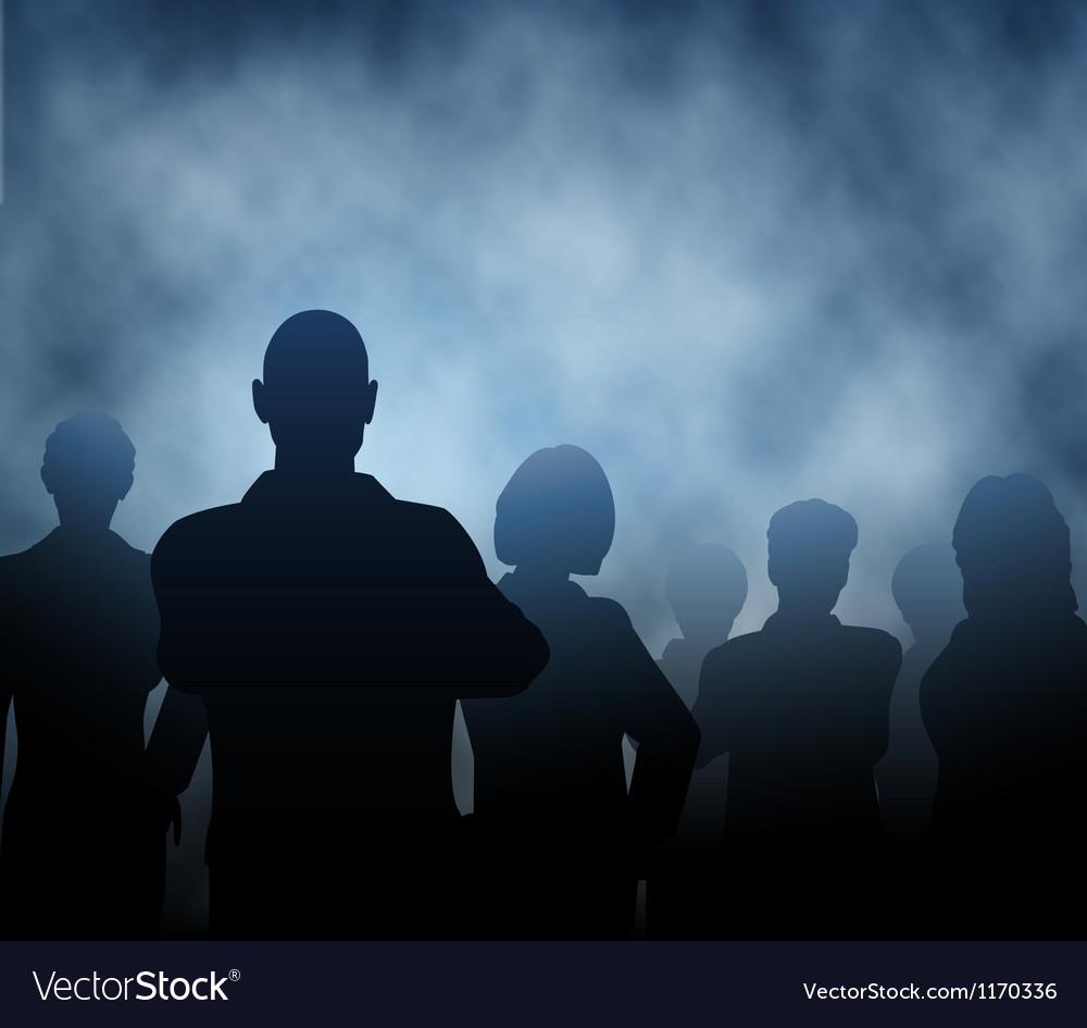 Mist people vector | Price: 1 Credit (USD $1)