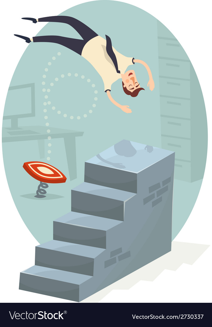 Career ladder vector | Price: 1 Credit (USD $1)