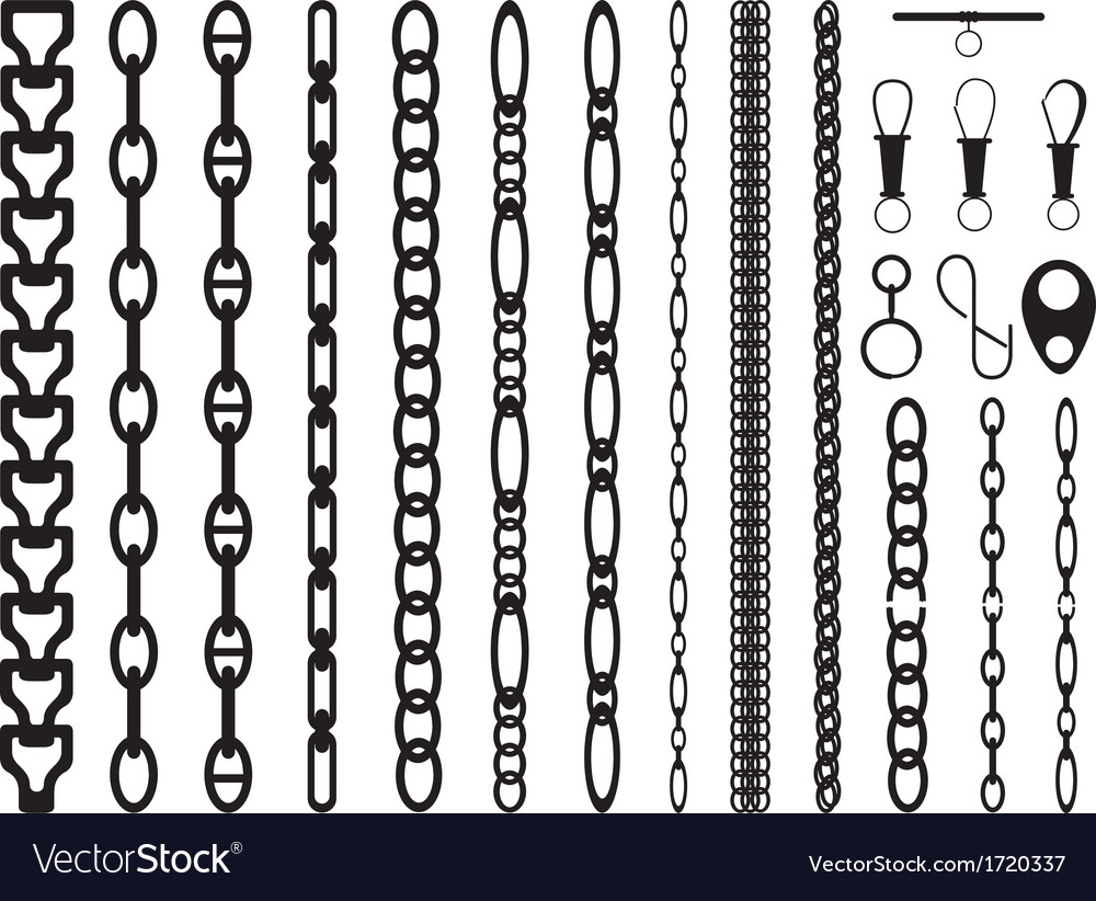 Chains vector | Price: 1 Credit (USD $1)