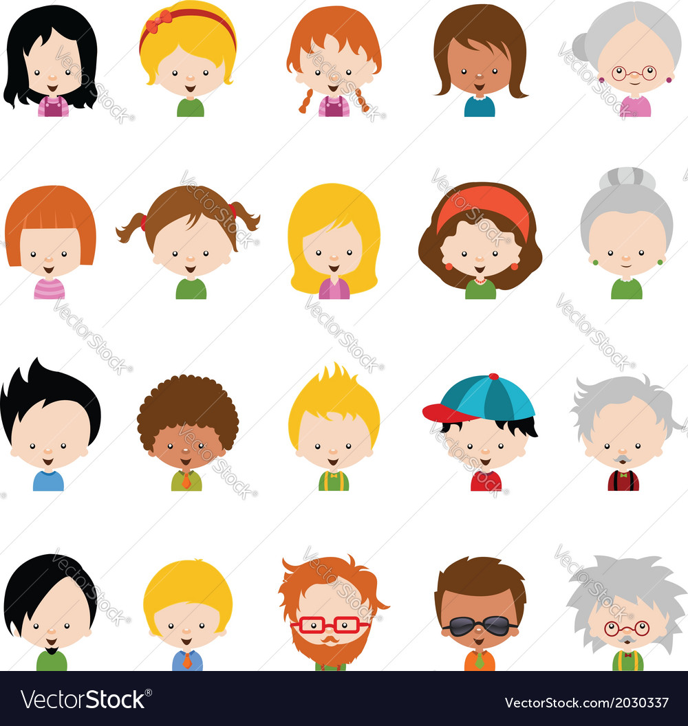 Character set vector | Price: 1 Credit (USD $1)