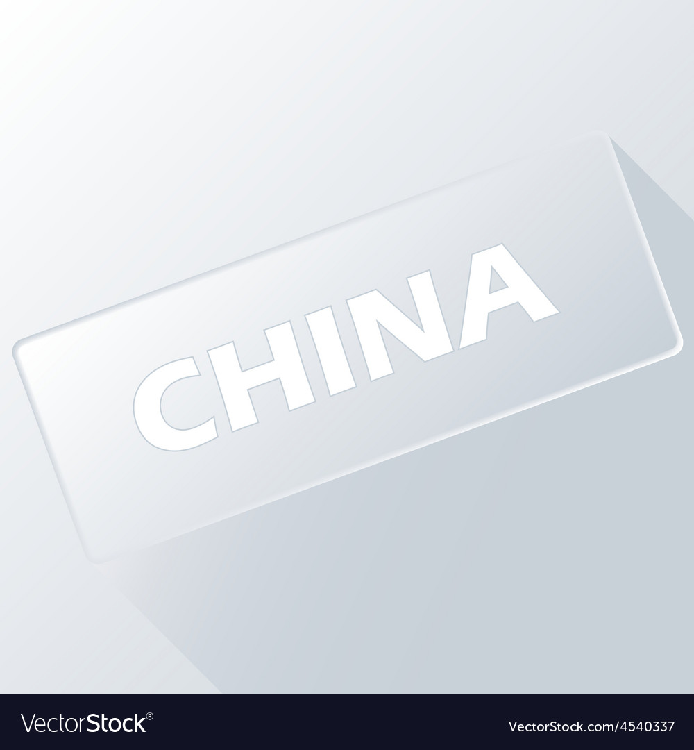 China unique button vector | Price: 1 Credit (USD $1)