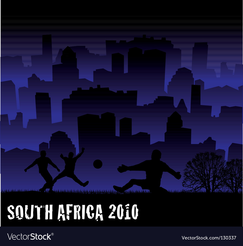 Football south africa 2010 vector | Price: 1 Credit (USD $1)