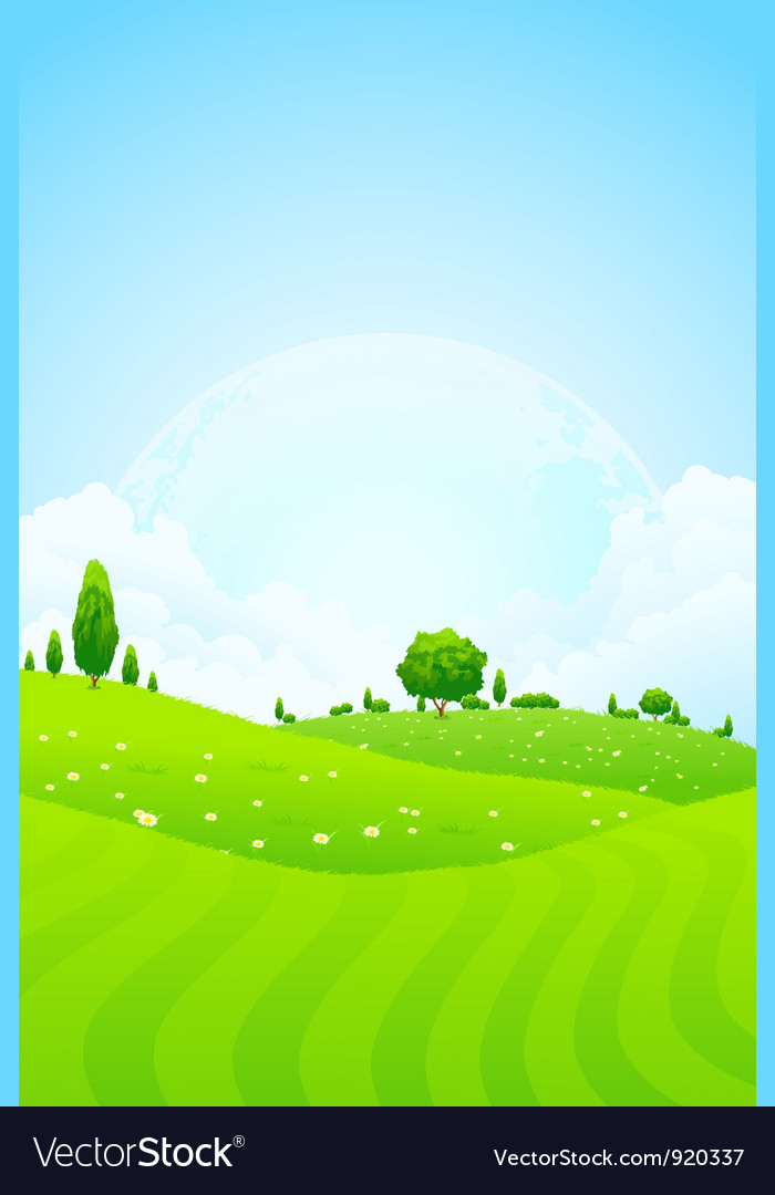 Green background vector | Price: 3 Credit (USD $3)