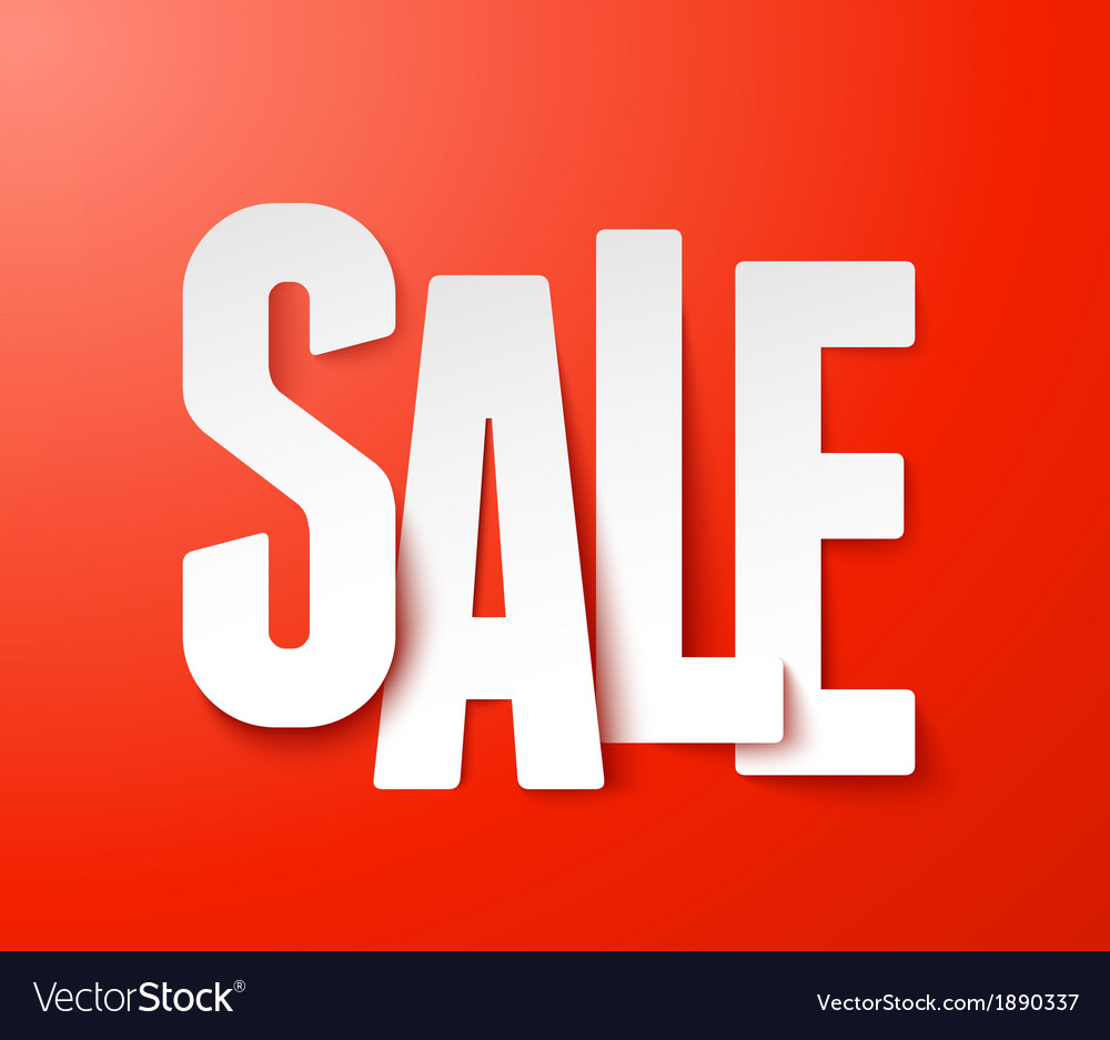 Sale paper vector   Price: 1 Credit (USD $1)