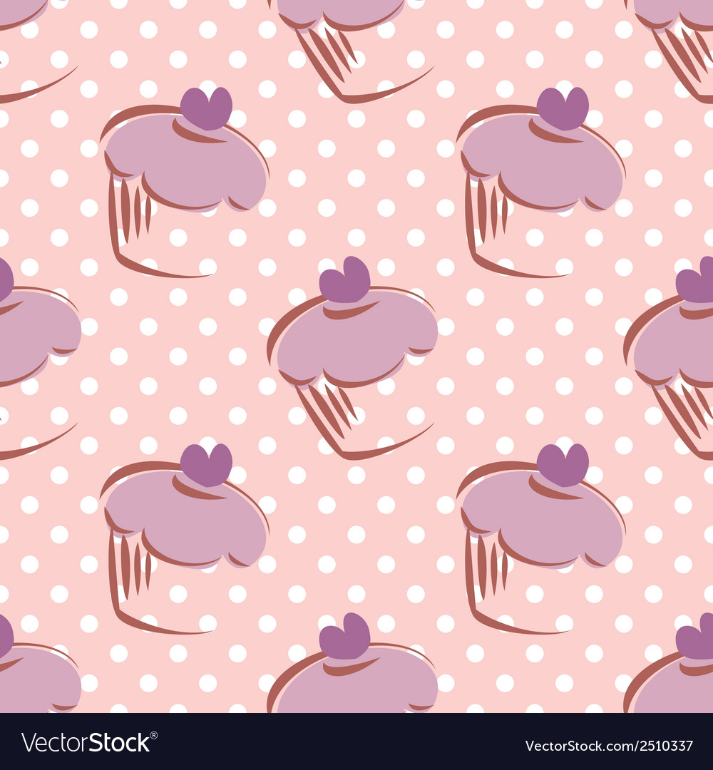 Seamless lavender pattern or tile background vector | Price: 1 Credit (USD $1)