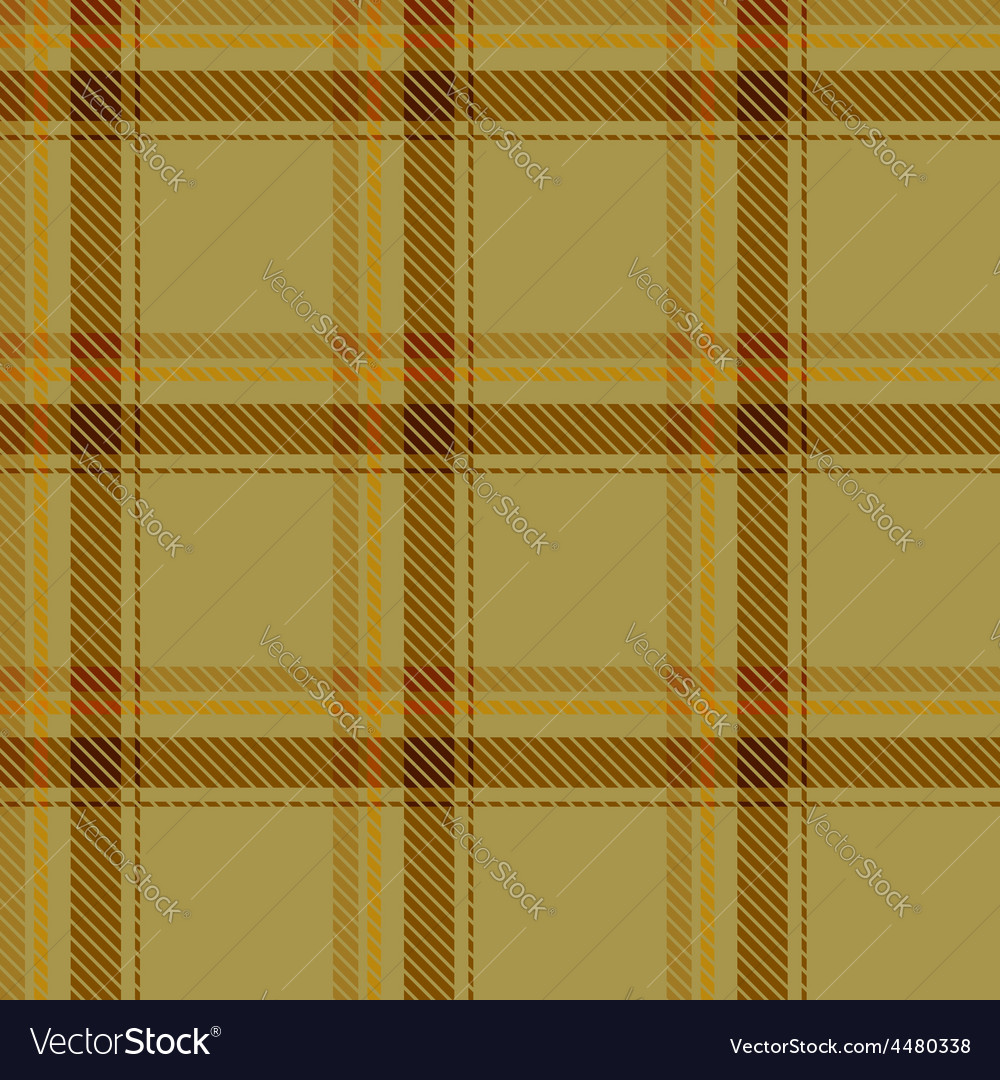 Seamless brown tartan pattern fabric vector | Price: 1 Credit (USD $1)
