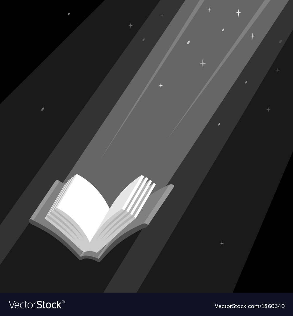 Book is light vector | Price: 1 Credit (USD $1)