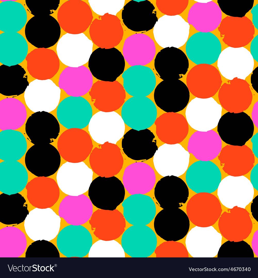 Colorful circles pattern vector | Price: 1 Credit (USD $1)