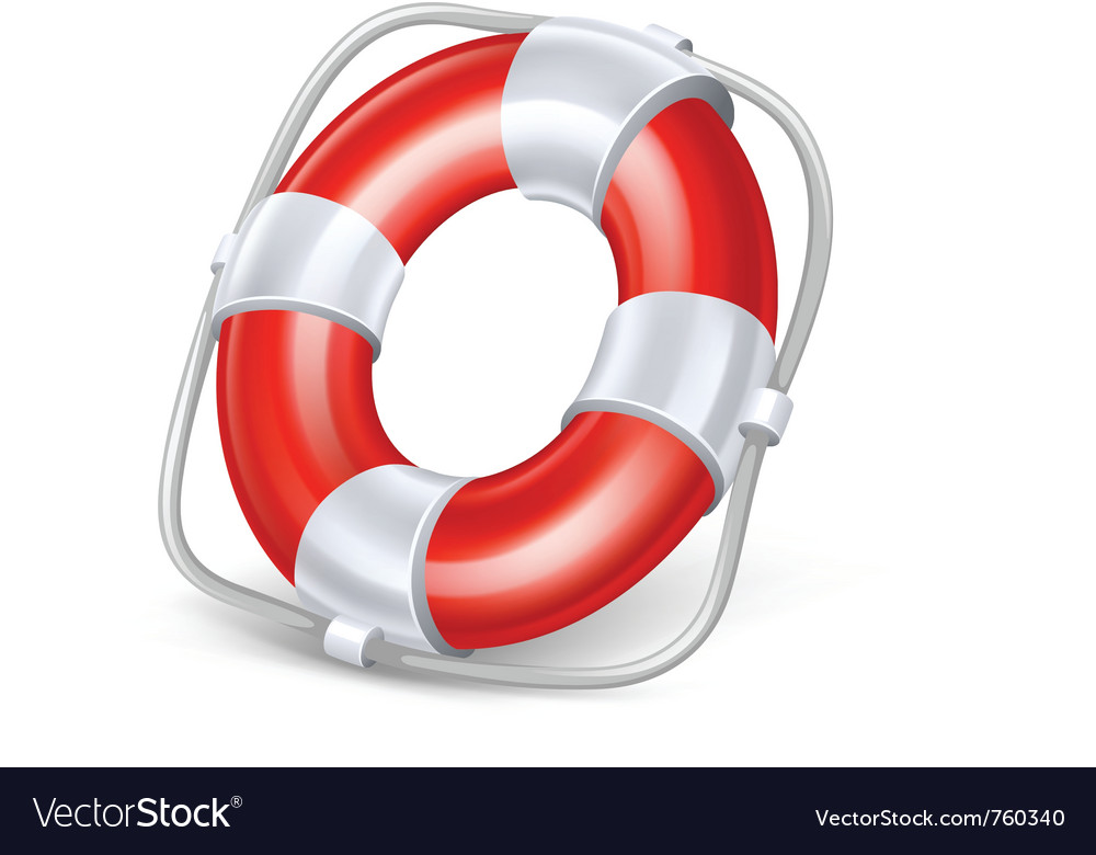 Life buoy vector | Price: 3 Credit (USD $3)