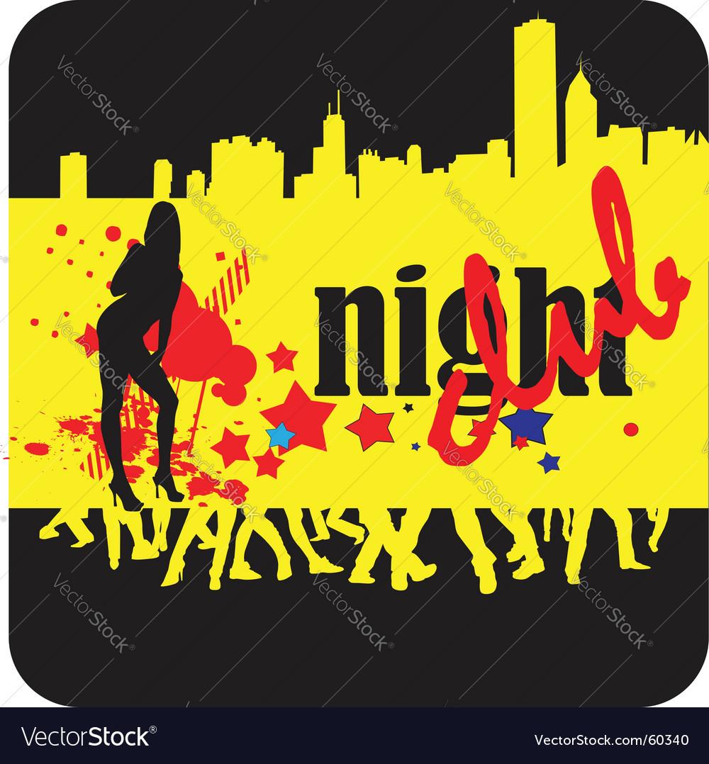 Nightclub vector | Price: 1 Credit (USD $1)