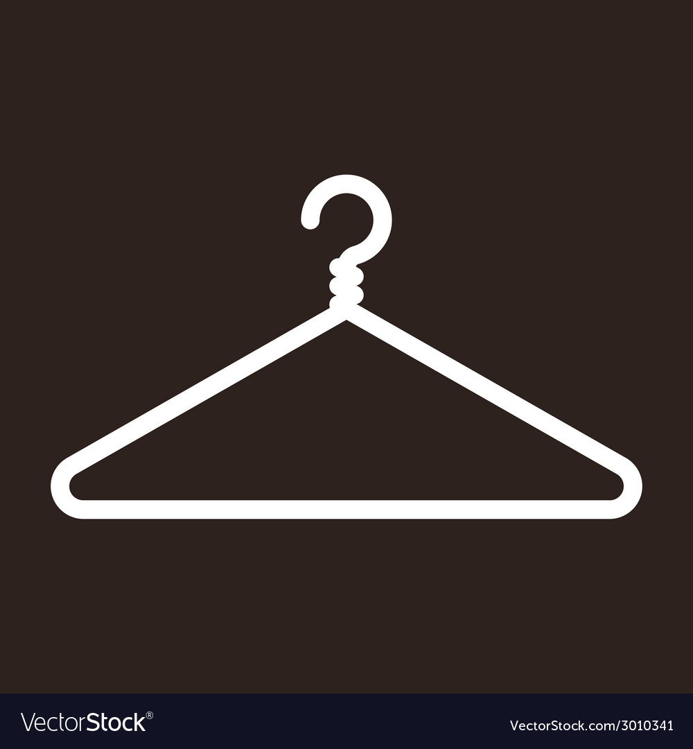 Hanger icon vector | Price: 1 Credit (USD $1)
