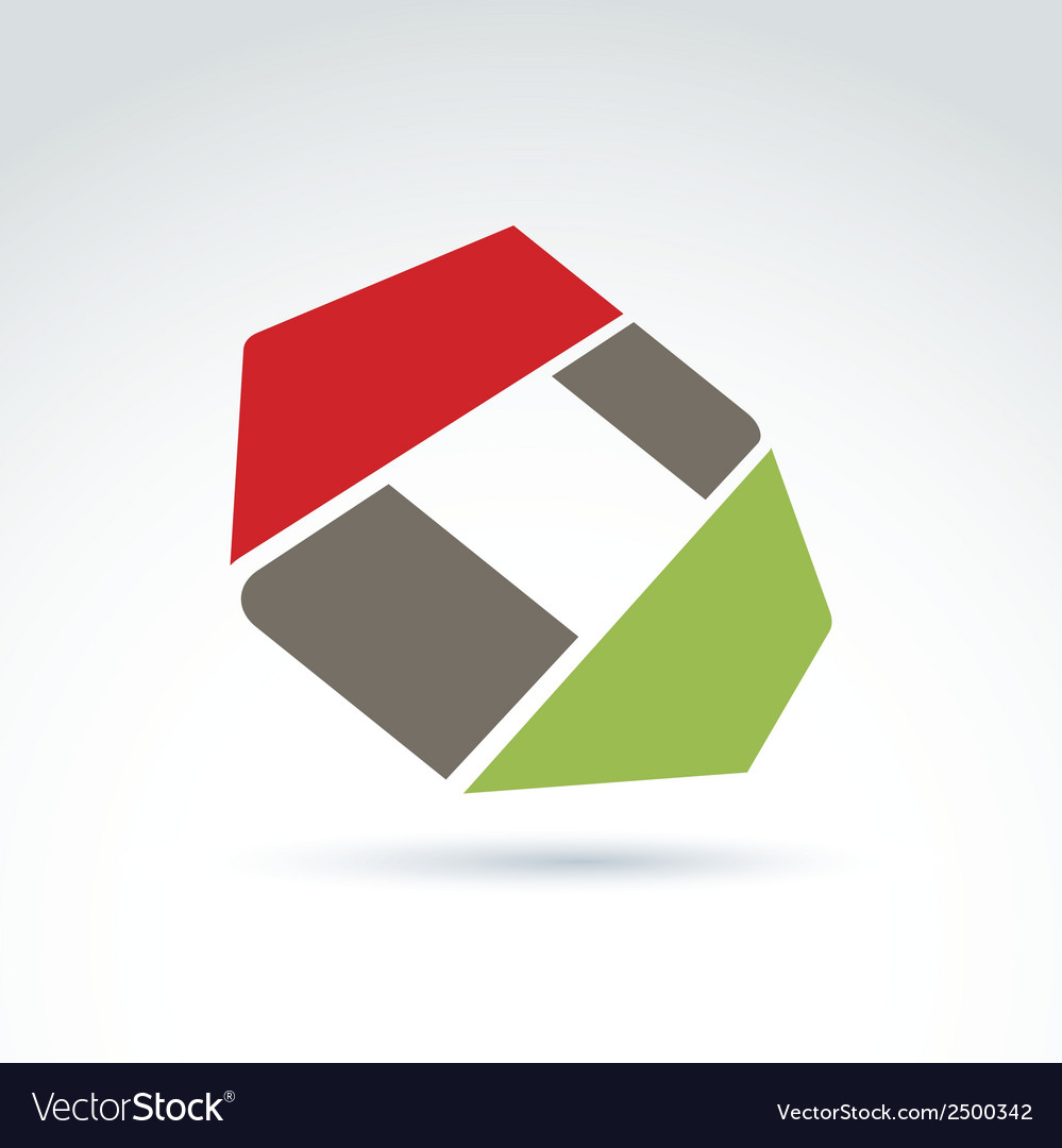 Bright complex geometric corporate element created vector | Price: 1 Credit (USD $1)
