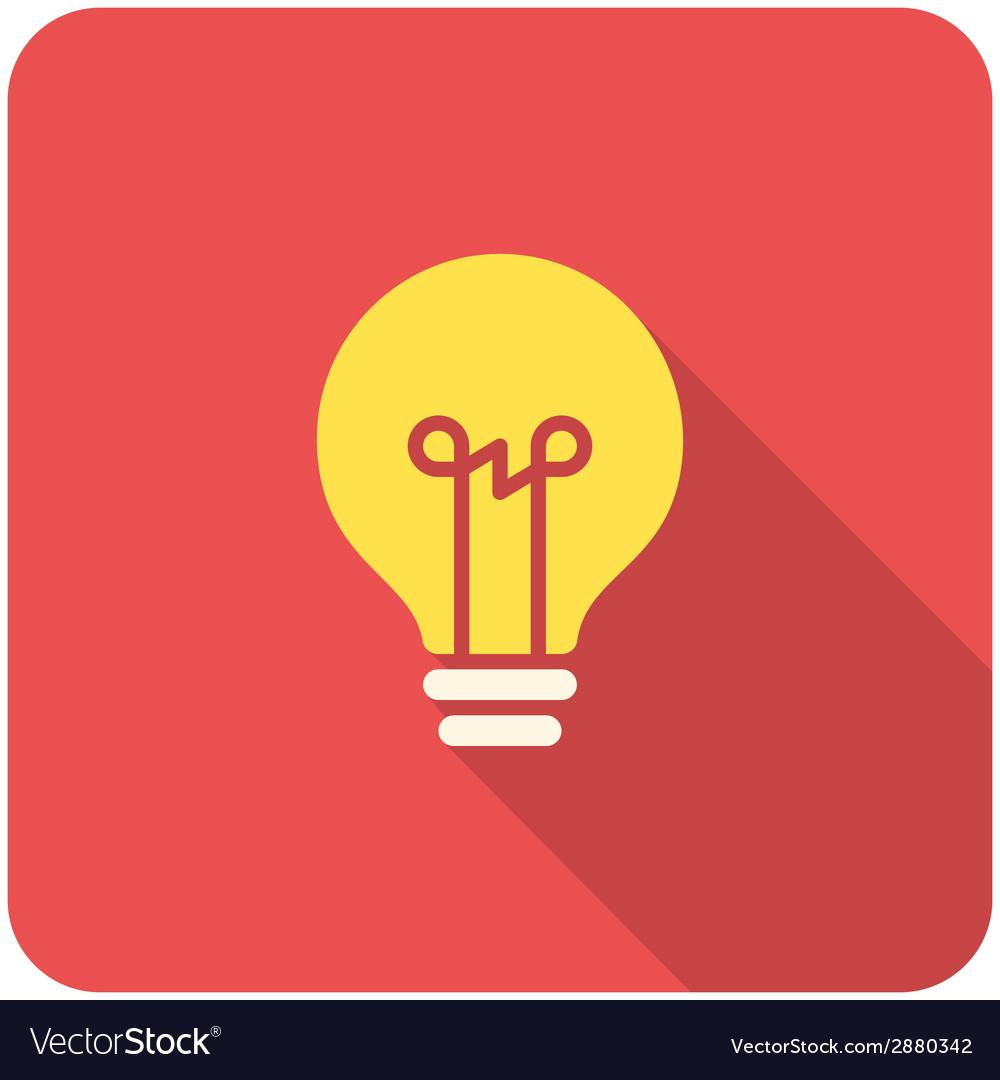 Light bulb icon vector   Price: 1 Credit (USD $1)