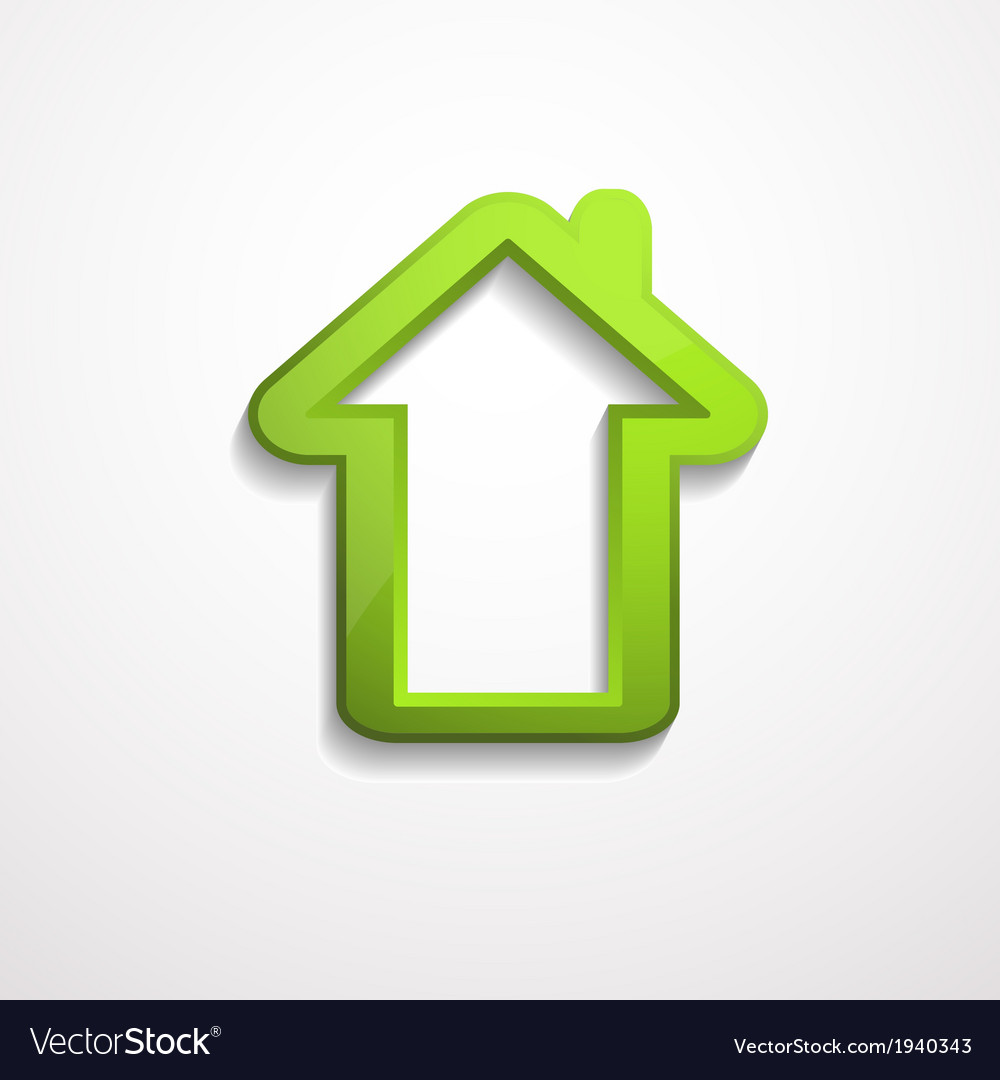 3d house icon vector | Price: 1 Credit (USD $1)