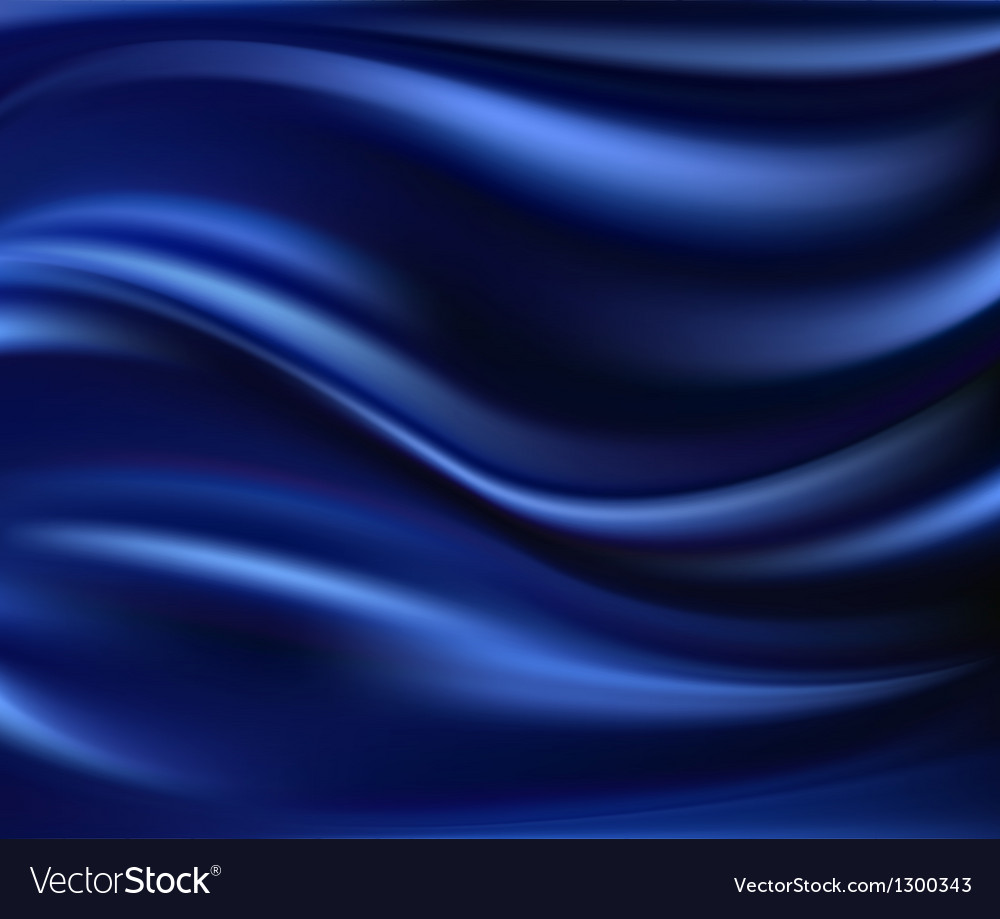 Abstract texture blue silk vector | Price: 1 Credit (USD $1)