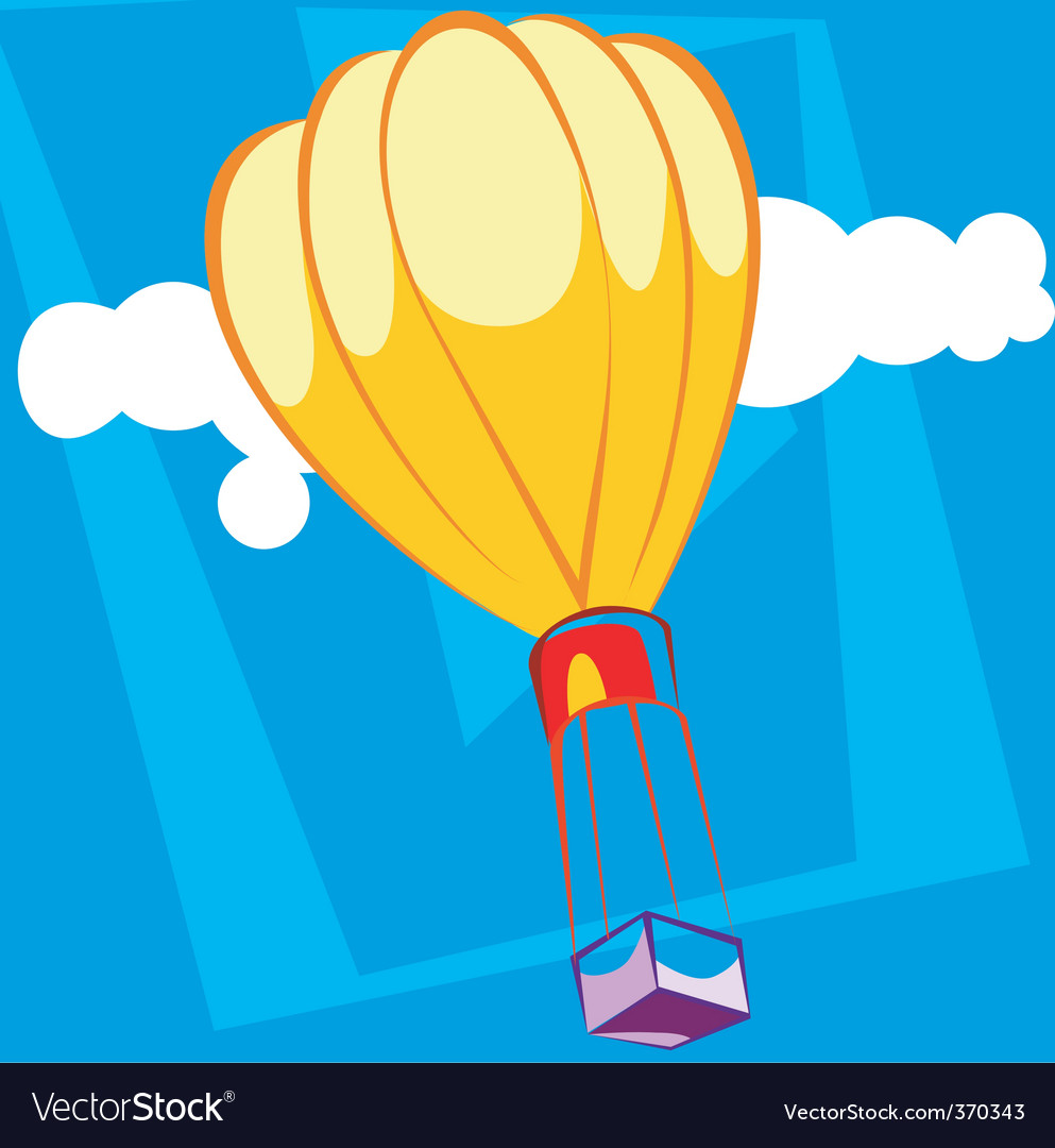 Air balloons vector | Price: 1 Credit (USD $1)